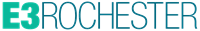 E3 Rochester Logo